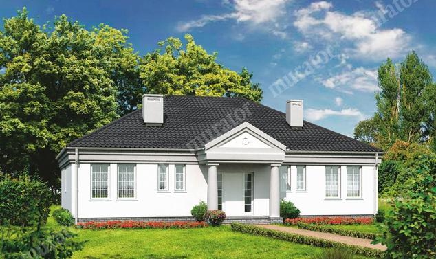 Projekt domu:  Murator M15   – Dworek na lata